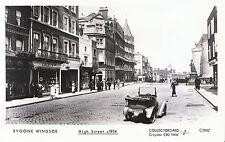 Bygone Windsor Postcard - High Street c1914 - Berkshire - Pamlin Print  A6493