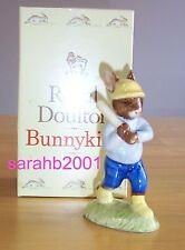 Royal Doulton Bunnykins DB43 Home Run Bunnykins Figurine ~ Mint