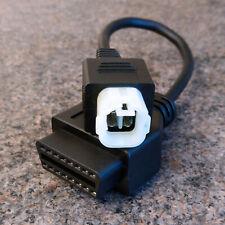 Honda CBR 1000R 4 pin to OBD2 Diagnosotic Cable adaptor OBD