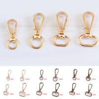 10pcs Metal Bag Buckle Lobster Clasp Buckle Hook Bag Accessories Craft DIY AUS