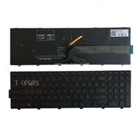 NEW FOR DELL Inspiron 15-7559 15-7557 7557 7559 US Keyboard RED Backlit