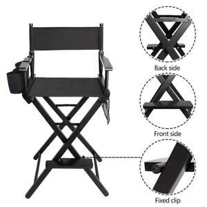 Useful Folding Makeup Artist Chair Director's Chair Aluminum Frame Professional