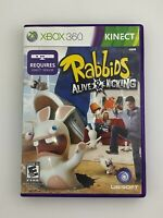 Rabbids Alive & Kicking - Xbox 360 Game - Complete & Tested