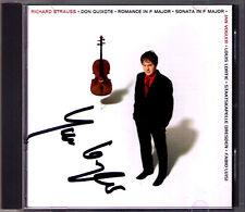 Jan VOGLER Signed STRAUSS Don Quixote Cello Sonata Romance CD LUISI Louis LORTIE