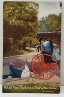 "Vintage Romance ""Papa Tumbled to Their Little Game"" The Cargill Co. Postcard B23"