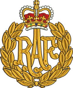 RAF Embroidered Polo Shirt