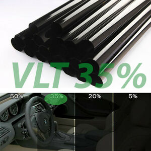 "Uncut Window Tint Roll 35% VLT 35"" 10ft feet Home Commercial Office Auto Film"