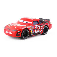 Disney Pixar Cars No.123 No Stall Diecast Toy Model Car 1:55 Kids Gift