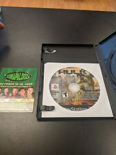 The Incredible Hulk Playstation Two PS2 - TESTED disc only FREE SHIPPING