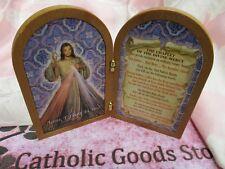 Divine Mercy Bi-Fold Plaque