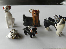 Monopoly, dogopoly, Beaglopoly board game tokens enamel dog charms