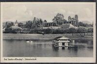 46194) AK Bad Sooden-Allendorf Schwanenteich 1955