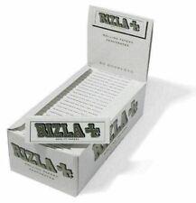 Rizla 2500 Cartine bianche corte Box da 50 libretti