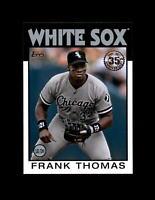 2021 Topps 1986 Topps Insert #86B-50 Frank Thomas Chicago White Sox HOF