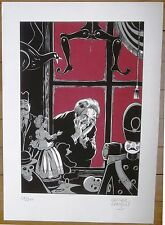 Grenson Serigraphie La Vitrine du magasin de jouet n/200 Signée 50x70 cm Neuf