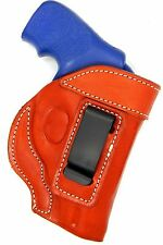 Premium Leather Inside/In the pants IWB Holster for S&W CHIEF SPECIAL 38 REVOLVE