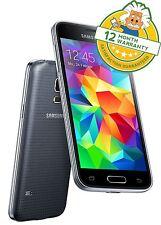 SAMSUNG S5 mini G800F Antracite Nero Sbloccato 4G LTE Smartphone Android GRADO A