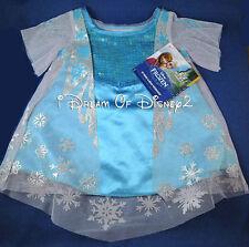 NEW Build-A-Bear ELSA FROZEN SNOW QUEEN DRESS Disney Teddy Clothes Costume