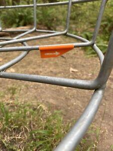 "Disc Golf Next Tee Pad Direction Arrows ""Orange"" 3D Printed DiscGolf Set of 9"