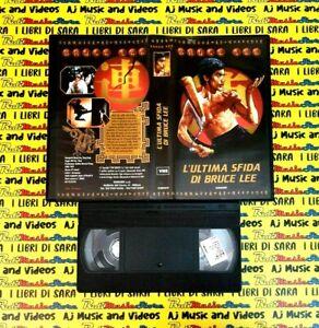 VHS Film L'ULTIMA SFIDA DI BRUCE LEE 1998 Bruce Lee EUROSET (F148) no dvd