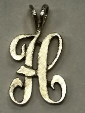 """Vintage Initial """"H"""" Charm NICE Great Gift!!"""