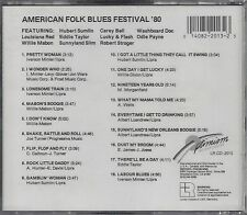 "VARIOUS ARTISTS   ""American Folk Blues Festival '80""     NEW SEALED CD"