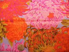 Fat Quarter Kaffe Fassett Giapponese Crisantemo Rosa-Rowan tessuti quilting