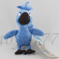 "Rio Character Baby Tiago Macaw Parrot 7"" Stuffed Animal Blue Bird Plush Toy Doll"