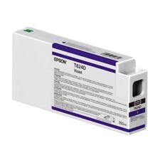 Original Epson Tinte C13T824D00 Violett T824D SC-P6000 P7000 MHD 11/2017