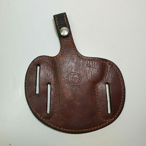 Roy's Leather Holster Pancake 39 Brown Used