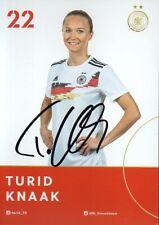 Autogramm - Turid Knaak (DFB Frauen) - 2019 - WM Frankreich