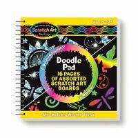 Melissa and Doug Scratch Art® Doodle Pad Book - 15947 - NEW!