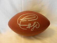 Donald Driver #80 Autographed Wilson Football Green Bay Packers