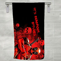 Deadpool Avengers Superhero Bath Beach Holiday Swim Cotton Towel