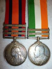 Queen's & King's South Africa Medal 1899-1902, Pair 44/118th Imperial Yeomanry