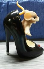 New listing Charming Tails Fun Is Good For The Sole Mouse Shoe Figurine 89/281