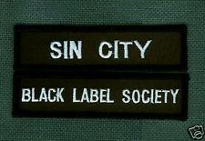 BLACK LABEL SOCIETY SIN CITY BLS FAN CLUB PATCH SET