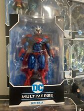 """McFarlane Toys Superman Unchained Armor Action Figure 7"""" DC Multiverse Free Ship"""