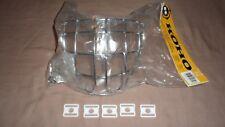 NEW Certified Koho Hockey Goalie Mask Helmet Chrome Cage Senior Adult and 5 Clip
