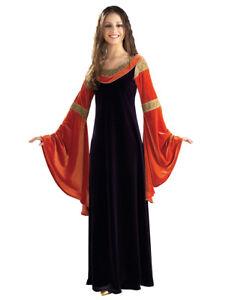 """Arwen Womens Gown Costume, Standard, (USA Size 12), BUST 36 - 38"""",WAIST 27 - 30"""""""