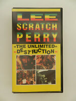 VHS Video Kassette Lee Scratch Perry The unlimited destruction