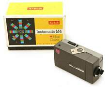 Kodak Instamatic M4 movie camera S8 in box 1965