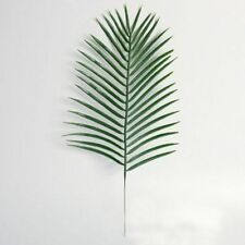 Hot Artificial Flowers Leaf Green Palm Leaves Plastic Silk Fake Plant Home Decor