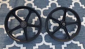 Old School ACS Z-Mags Black BMX Wheels