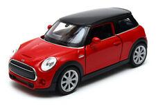 Mini Cooper Hatch F56 3 door modellauto model car red Welly diecast scale 1:36
