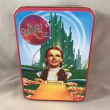 2000 Wizard Of Oz San Francisco Music Box Ornament In Tin Dorothy & Toto New