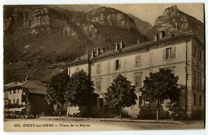 CPA 73 Savoie Grésy-sur-Isère Place de la Mairie