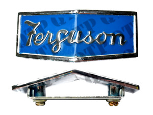 FRONT BONNET BADGE FOR MASSEY FERGUSON TE20 TEA20 TED20 TEF20 TRACTORS.
