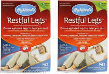 Hyland'S Restful Legs 50 tabs (Packs of 2)