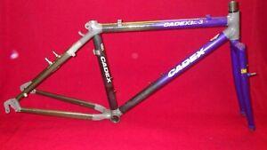 CADEX CFM3 FRAMESET, 1993, CARBON TUBING, MEDIUM, NICE CONDITION